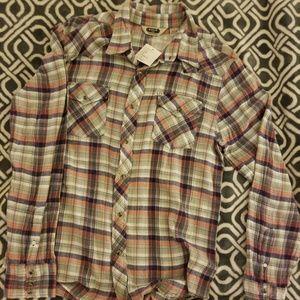 Salt Valley Western Men's Large Shirt